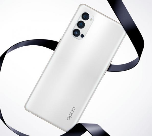 Чёрный и белый: 5G-смартфон OPPO Reno 4 Pro позирует на рендерах