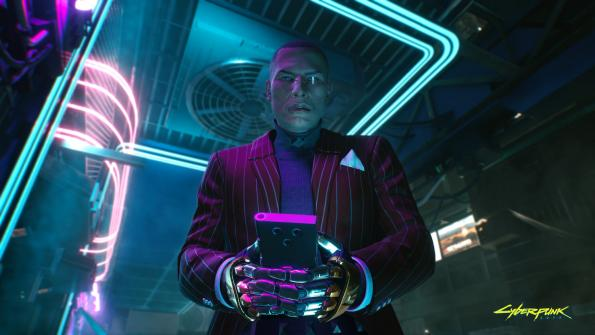 Cyberpunk 2077: концепт-арты центра Найт-Сити, шутка про FIFA 78 и скриншоты персонажей