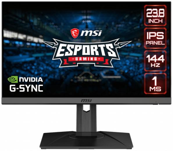Монитор для игр MSI Optix G242P совместим с технологией NVIDIA G-Sync