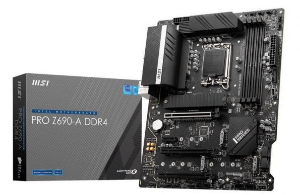 Материнская плата MSI Pro Z690-A DDR4 начального уровня поступила в продажу за $227